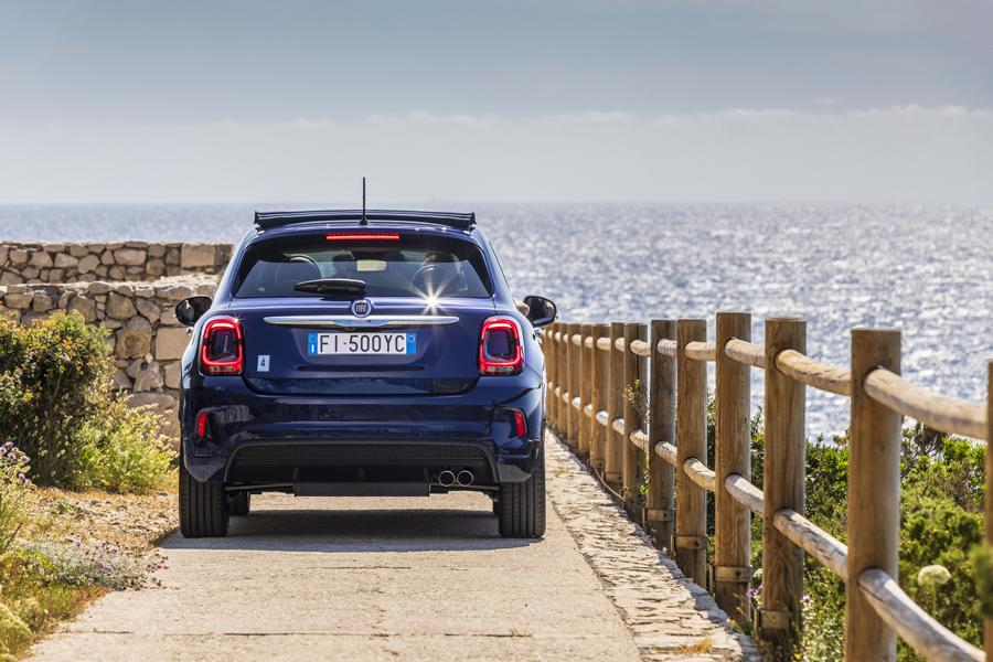 10 500X Yachting Fiat 500X YACHTING als Open Air Version mit Soft Top