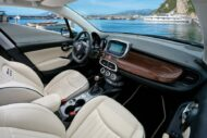 15 500X Yachting 190x127 Fiat 500X YACHTING als Open Air Version mit Soft Top