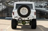 1973 Ford Bronco Restomod weiss tuning 11 155x103 Schneeweißer 1973 Ford Bronco Restomod mit 450 PS!