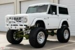 1973 Ford Bronco Restomod weiss tuning 12 155x103 Schneeweißer 1973 Ford Bronco Restomod mit 450 PS!