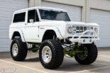 1973 Ford Bronco Restomod weiss tuning 13 155x103 Schneeweißer 1973 Ford Bronco Restomod mit 450 PS!