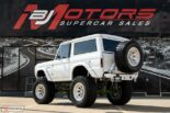 1973 Ford Bronco Restomod weiss tuning 7 155x103 Schneeweißer 1973 Ford Bronco Restomod mit 450 PS!