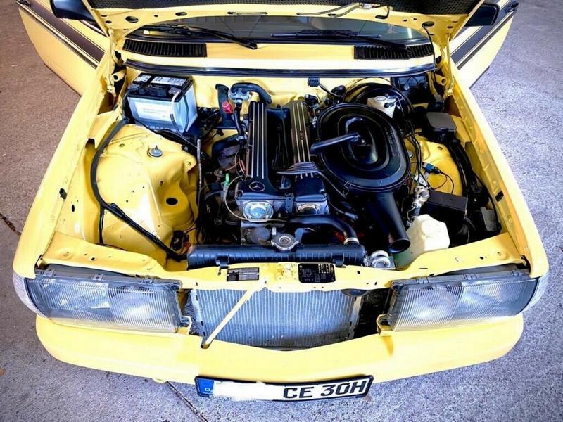 1983er Mercedes 280 CE W123 Zender AMG Tuning 6 Mercedes 280 CE (W123) mit Zender  und AMG Tuning