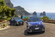 20 500X 500 Yachting 190x127 Fiat 500X YACHTING als Open Air Version mit Soft Top
