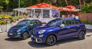 21 500X 500 Yachting 310x165 Fiat 500X YACHTING als Open Air Version mit Soft Top