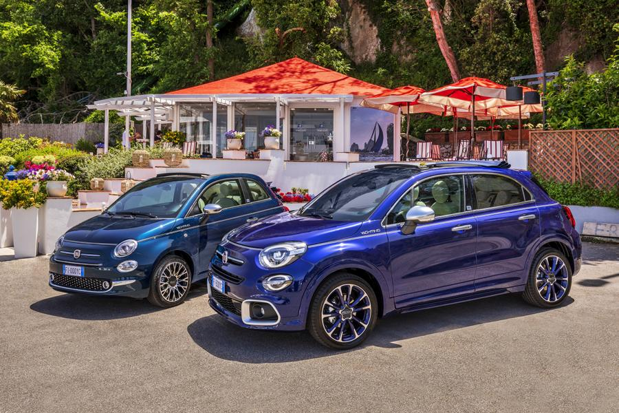 21 500X 500 Yachting Fiat 500X YACHTING als Open Air Version mit Soft Top