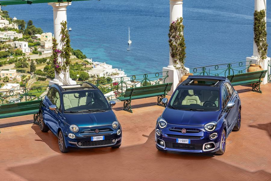 22 500X 500 Yachting Fiat 500X YACHTING als Open Air Version mit Soft Top