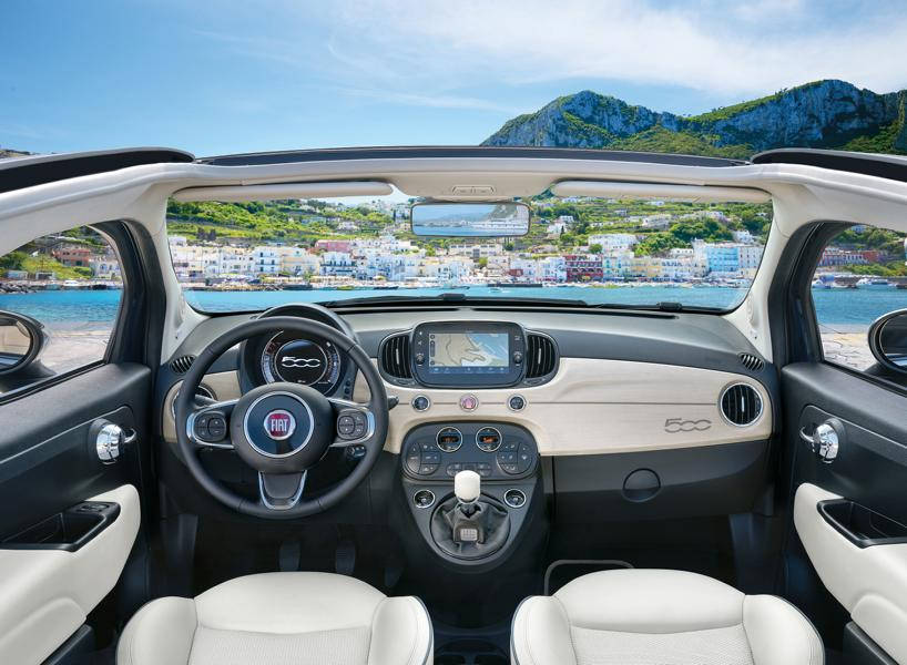 500C Yacht Club Capri500 Yachting 6 Fiat 500X YACHTING als Open Air Version mit Soft Top