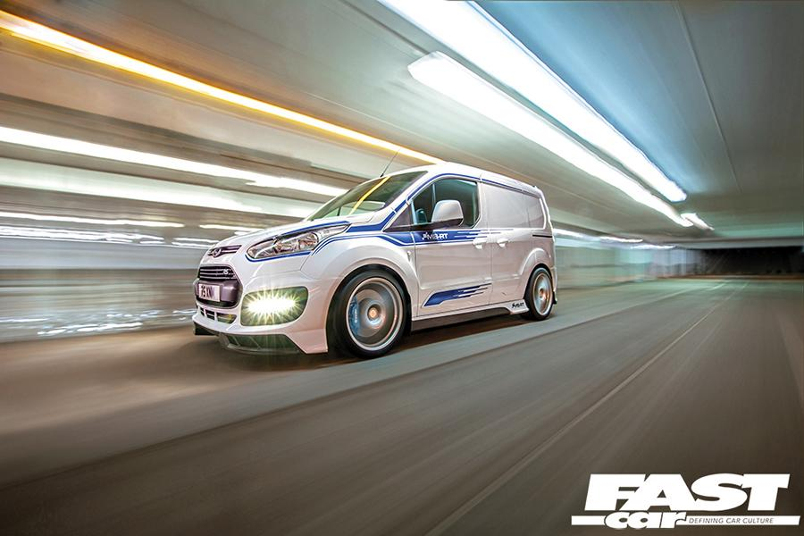 Ford Transit Connect RS MS RT Tuning Widebody 1 Eiltransporter   Ford Transit Connect RS mit +400 PS!