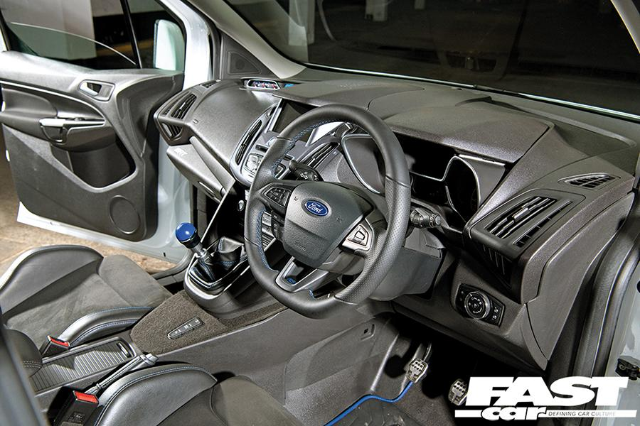 Ford Transit Connect RS MS RT Tuning Widebody 13 Eiltransporter   Ford Transit Connect RS mit +400 PS!
