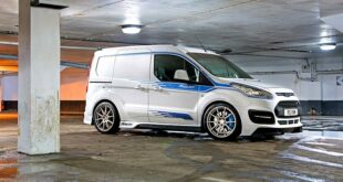 Ford Transit Connect RS MS RT Tuning Widebody 17 310x165 Eiltransporter   Ford Transit Connect RS mit +400 PS!