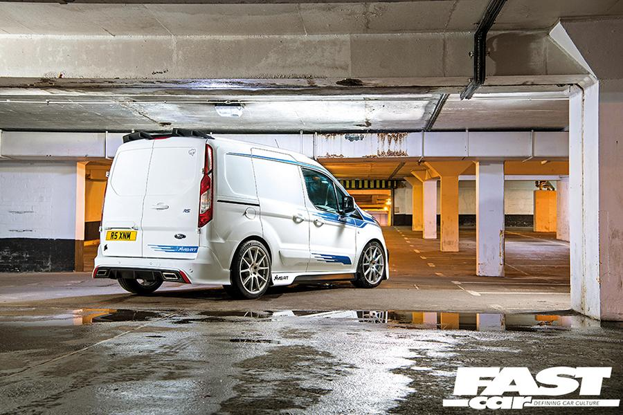 Ford Transit Connect RS MS RT Tuning Widebody 2 Eiltransporter   Ford Transit Connect RS mit +400 PS!