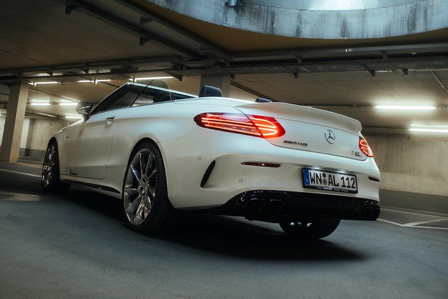 Mercedes C63 AMG Lorinser Chiptuning RS8 RS9 Felgen 2 Dezent: Mercedes C63 AMG mit 598 PS & Lorinser Alus!