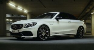 Mercedes C63 AMG Lorinser Chiptuning RS8 RS9 Felgen 3 310x165 Dezent: Mercedes C63 AMG mit 598 PS & Lorinser Alus!