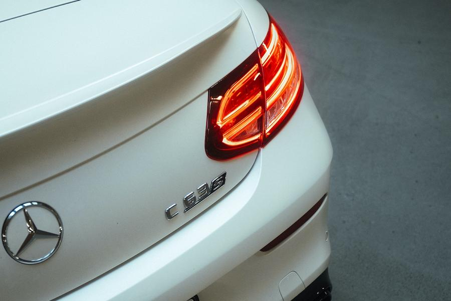 Mercedes C63 AMG Lorinser Chiptuning RS8 RS9 Felgen 5 Dezent: Mercedes C63 AMG mit 598 PS & Lorinser Alus!
