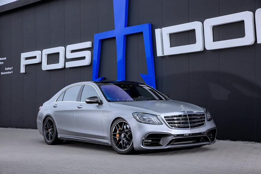 POSAIDON Mercedes Benz AMG S63 W222 Tuning 2 Maximal 940 PS im POSAIDON Mercedes Benz AMG S63!