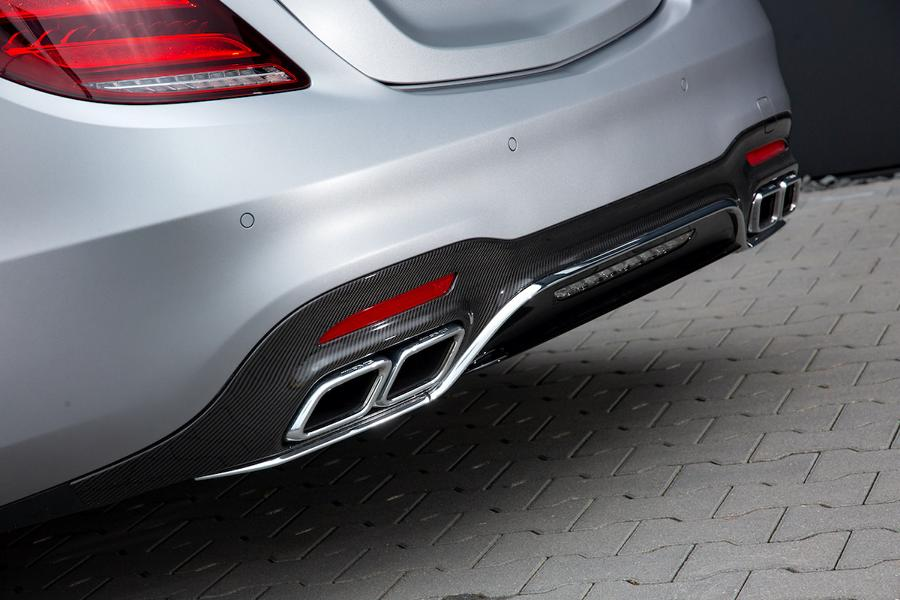 POSAIDON Mercedes Benz AMG S63 W222 Tuning 4 Maximal 940 PS im POSAIDON Mercedes Benz AMG S63!