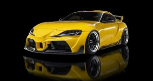 Body kit for the Toyota Supra A90 Wald International 40 310x165 Preview: Toyota Land Cruiser with body kit from Wald International!