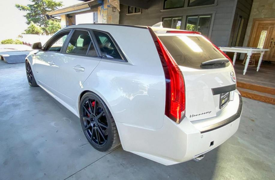 Cadillac CTS V Wagon HPE1100 Hennessey Performance BiTurbo Tuning 10 Cadillac CTS V Wagon mit 1.100 PS als ultimativer Sleeper!