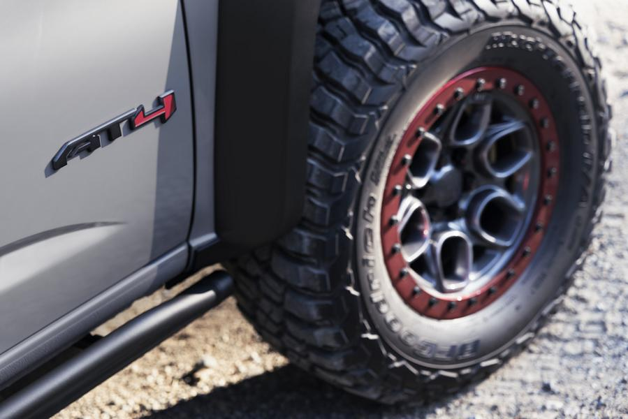 GMC Canyon AT4 OVRLANDX Off Road Concept 2022 18 Mächtig: GMC Canyon AT4 OVRLANDX Off Road Concept