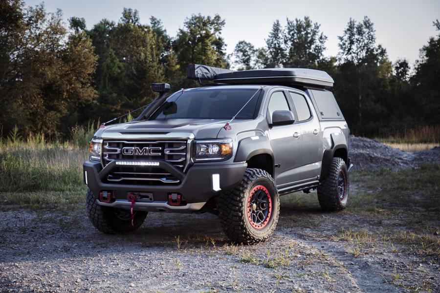 GMC Canyon AT4 OVRLANDX Off Road Concept 2022 6 Mächtig: GMC Canyon AT4 OVRLANDX Off Road Concept