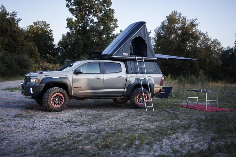 GMC Canyon AT4 OVRLANDX Off Road Concept 2022 8 Mächtig: GMC Canyon AT4 OVRLANDX Off Road Concept