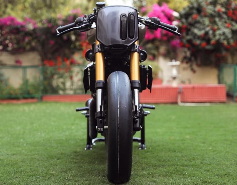KTM 390 Duke Rajputana customs Tuning Racer 2 Custom Rennmaschine Kush auf Basis KTM 390 Duke!