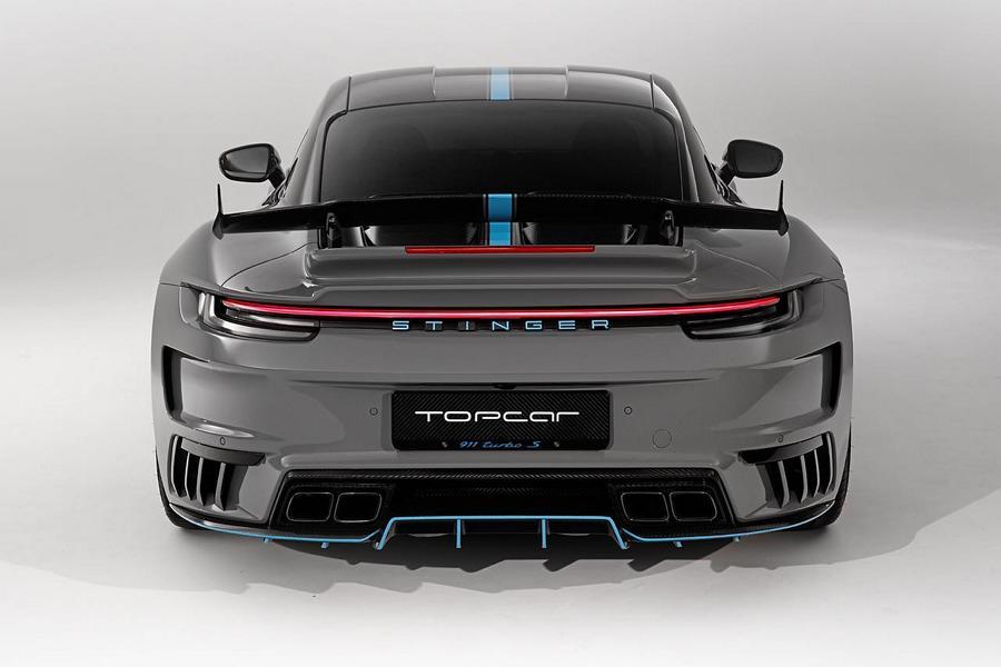 Porsche 992 Stinger GTR 3.0 Specter Kit TopCar Tuning 6 Porsche 992 Stinger GTR 3.0 Specter Kit von TopCar RU!