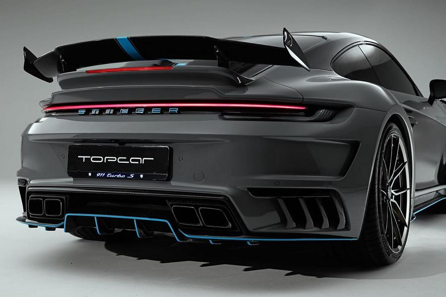 Porsche 992 Stinger GTR 3.0 Specter Kit TopCar Tuning 8 Porsche 992 Stinger GTR 3.0 Specter Kit von TopCar RU!