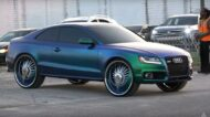 Audi S5 Coupe Donk Style Look Tuning Folierung 2 190x106 Video: Audi S5 Coupe im schrillen Donk Style Look!