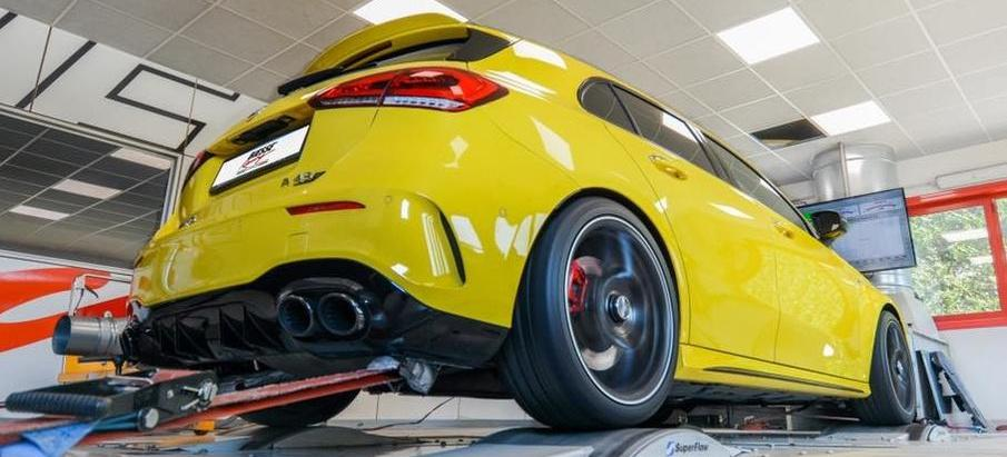 BIESSE Racing Mercedes AMG A45S W177 Tuning 491 PS & 595 NM im Biesse Racing Mercedes AMG A45S!