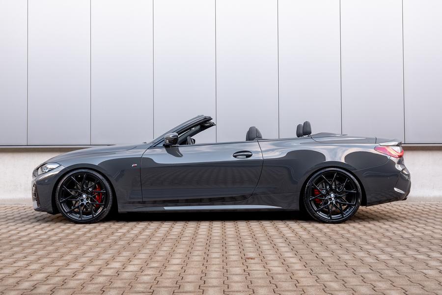 BMW M440i Cabrio Sportfedern Seite Fahrspaß Update: H&R Sportfedern für das 4er BMW Cabriolet