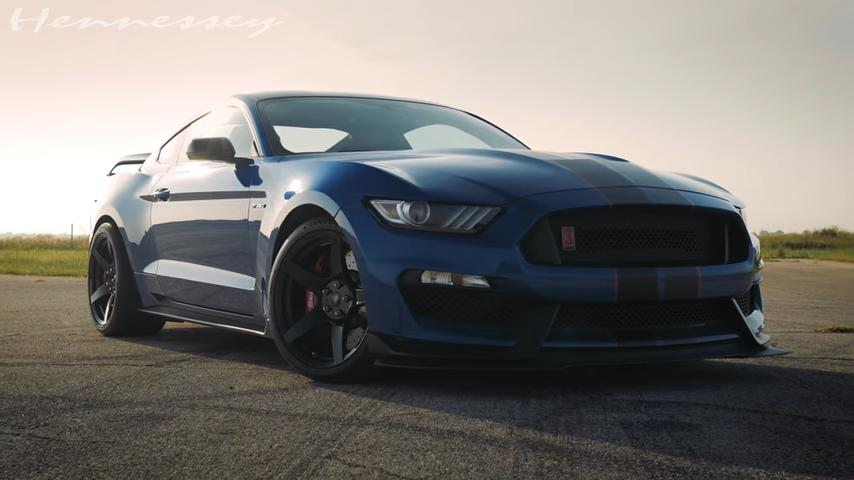 Ford Mustang GT350R HPE850 Package 2 Video: Ford Mustang GT350R mit HPE850 Package!