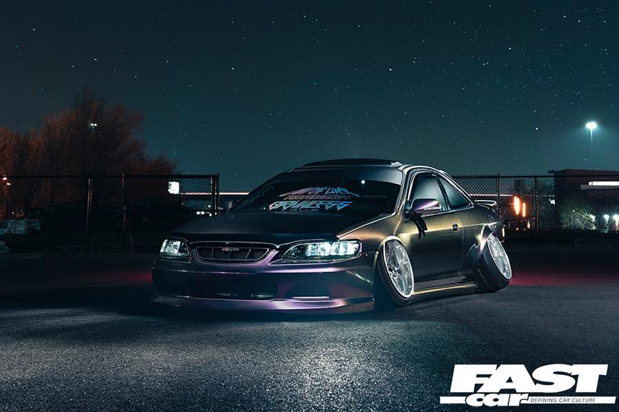 Honda Accord Coupe mit Camber Tuning 1 Geslammtes Honda Accord Coupé mit Camber Tuning!