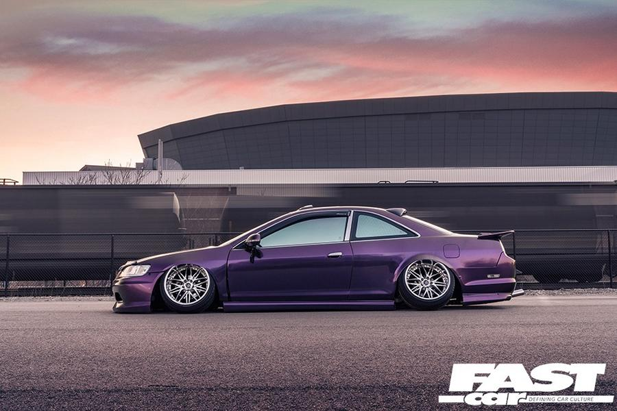 Honda Accord Coupe mit Camber Tuning 12 Geslammtes Honda Accord Coupé mit Camber Tuning!