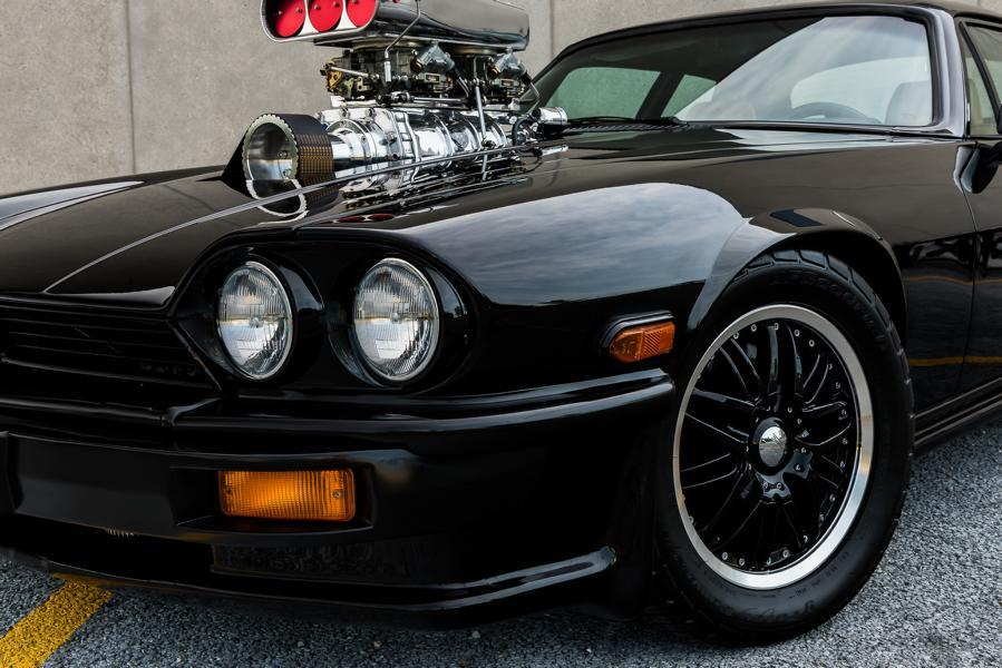 Jaguar XJS Chevy V8 Swap Blower Tuning Restomod 29 Fast & Furious Charger Optik am biederen Jaguar XJS!