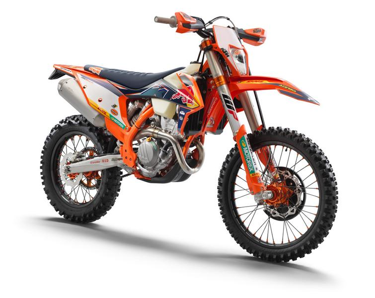 KTM 350 EXC F FACTORY EDITION 1 Limitiert: KTM 350 EXC F Factory Edition 2022 ab Herbst!