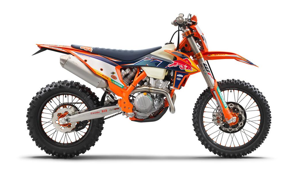 KTM 350 EXC F FACTORY EDITION 3 Limitiert: KTM 350 EXC F Factory Edition 2022 ab Herbst!