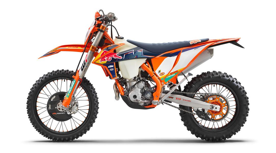 KTM 350 EXC F FACTORY EDITION 4 Limitiert: KTM 350 EXC F Factory Edition 2022 ab Herbst!