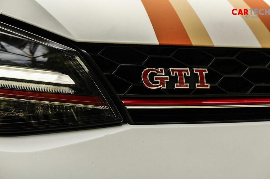 VW Golf VII GTI Osram Folierung Tuning 18 2014 VW Golf VII GTI mit Osram Folierung und 360 PS!