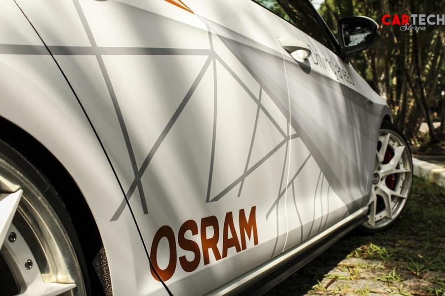 VW Golf VII GTI Osram Folierung Tuning 25 2014 VW Golf VII GTI mit Osram Folierung und 360 PS!