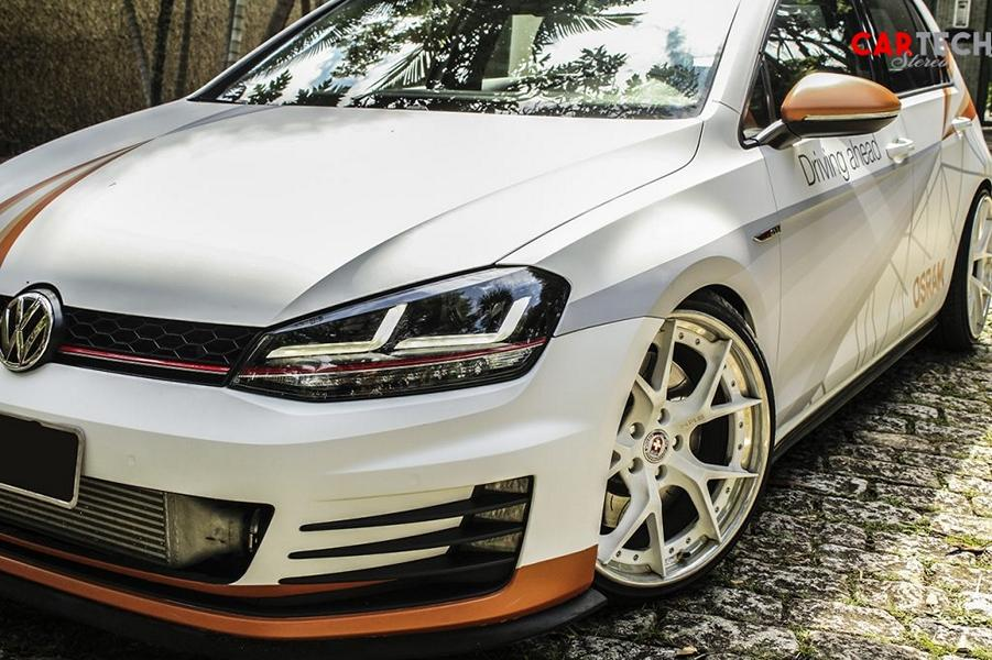 VW Golf VII GTI Osram Folierung Tuning 33 2014 VW Golf VII GTI mit Osram Folierung und 360 PS!