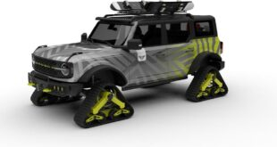 2021 Bronco by Tucci Hot Rods 310x165 Cool: Badlands Ford Bronco Quad Track Concept 2021!