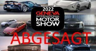 Genf Automobilsalon 2022 abgesagt 310x165 Abgesagt: kein Genfer Autosalon 2022 aufgrund Corona!