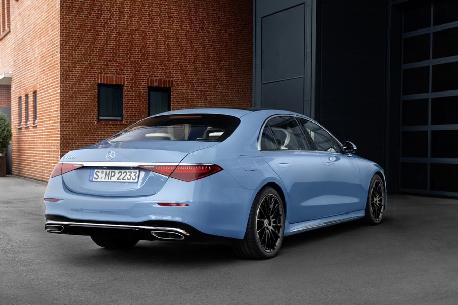 Mercedes W223 Manufaktur Tuning 2021 14 Mercedes Label MANUFAKTUR für exklusive Ausstattungen!