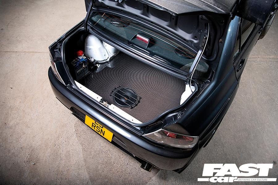 Mitsubishi Lancer Evo IX BiAufladung Carbon Kit Tuning 8 Mitsubishi Lancer Evo IX mit BiAufladung & Carbon Kit!